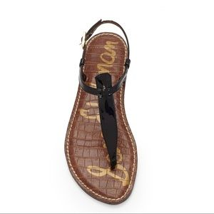 Sam Edelman Gigi Patent Leather Thong Sandal 8.5